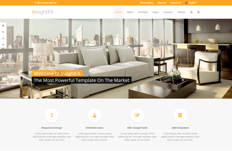 InsightFX - Joomla Template