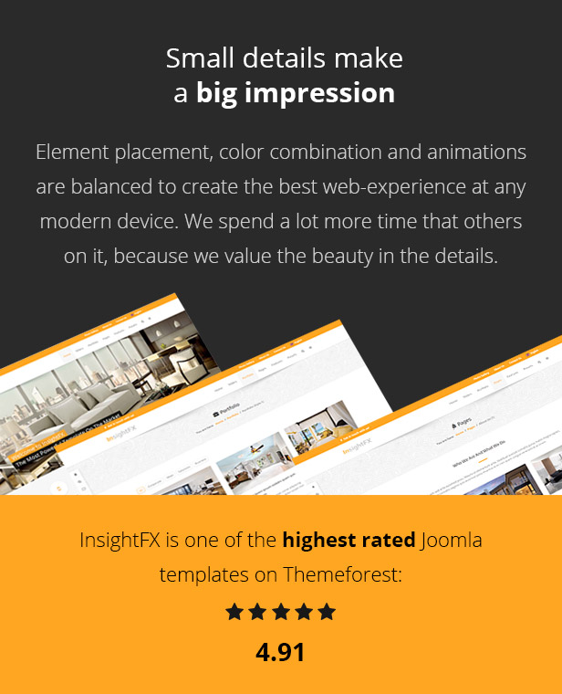 InsightFX - Multipurpose Joomla Template - 3