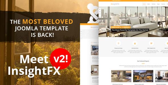 InsightFX - The Best Joomla template